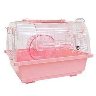 🚚 。╮♥寶貝咪嚕的家♥╭。新型日式豪華精緻鼠籠~-可當外出籠.適用小動物