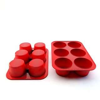 Silicone Muffin Pans and Cupcake Maker 6 cups