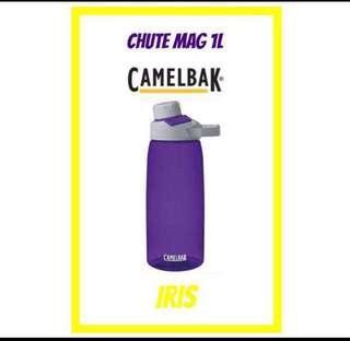 💦2019💦 NEW DESIGN CamelBak CHUTE MAG ® 1L Water Bottle <IRIS>