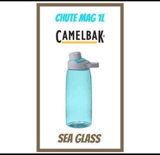 1L 💦2019💦 NEW DESIGN CamelBak CHUTE MAG ® <SEA GLASS> Water Bottle