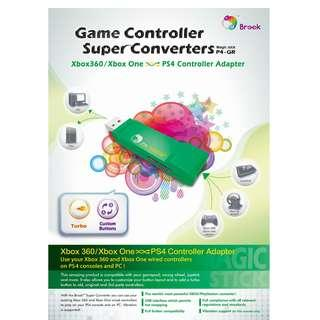 SG Seller Brook Design - P4-GR Game Controller Super Converters Xbox 360/Xbox One to PS4