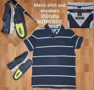 FREE SF Tommy Hilfiger shirt and sneakers