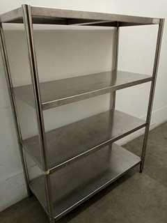 Stainless steel Table Shelf Rack