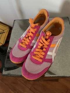 Tiger Onitsuka pink and orange US7