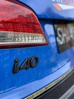 Hyundai i40 i30 Plastidip Dechrome Plasti dip