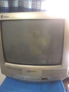 Televisi / TV sharp tabung murah lancar jaya