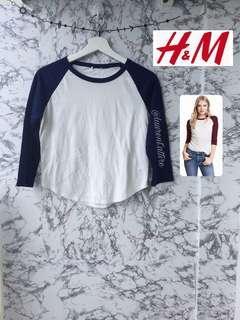 H&M raglan tee