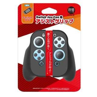 [In Stock] IINE Switch JoyCon Plastic Casing with Grip (Black)