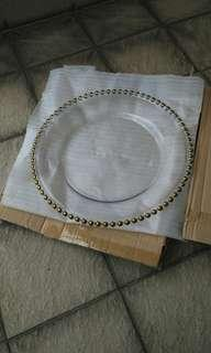 New Clear Cheap: Serving Plate 30cm
