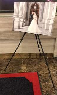 Aluminium Easel canvas art drawings display stand