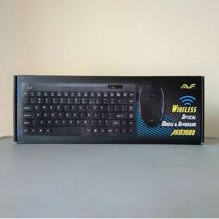 AVF Wireless Keyboard and Mouse