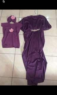 Take all sale Couple kaftan mom kids 1tahun