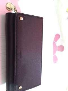 Also Black Genuine Leather Wallet