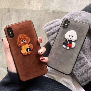 Dog teddy phone case