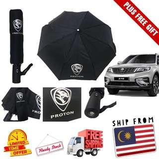 [READY STOCK] Official Payung PROTON Automatic Umbrella. FREE POSTAGE & GIFT