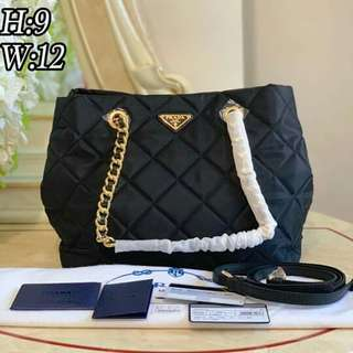 5d44cd448de32b 🔝G CLEARANCE SALE Prada BN 2740 Prada BN2740 Prada Tessuto Impuntu Bag  Prada Quilted Bag