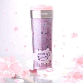🚚 Starbucks Sakura Create Your Own Tumbler