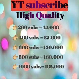 Youtube Subscribe High Quality