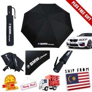 [READY STOCK] Official Payung BMW Automatic Umbrella. FREE POSTAGE & GIFT