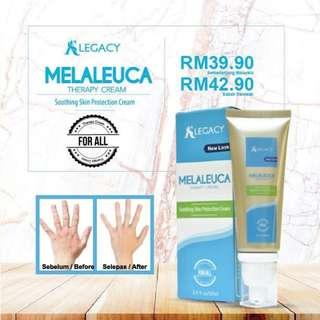 AS LEGACY MELAELUCA THERAPY CREAM