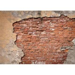 2M X 1.5M BRICK WALL TYPE 2 DIGITAL BACKDROP FOR PHOTOGRAPHY