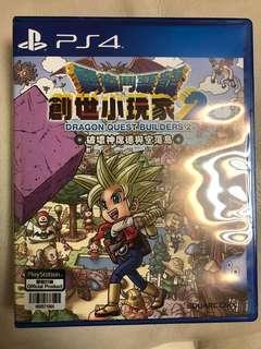 PS4 game 創世小玩家2 冇code