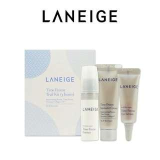 Laneige Time Free Trial Kit (3 items)