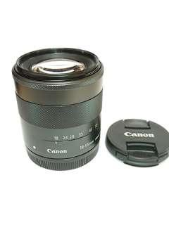 Canon ef-m 18-55mm f/3.5-5.6