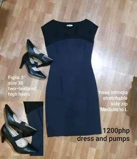 FREE SF Formal or office dress and shoes