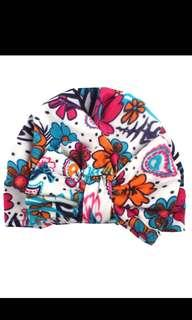 🚚 Cute Floral Baby Turbans
