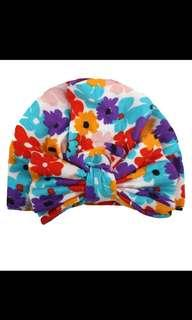 🚚 New Floral Baby Turbans