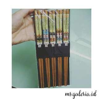 Beijing Opera Chopsticks, Sumpit Kayu
