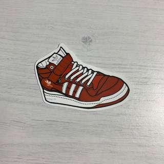 🚚 Adidas Sneakers Waterproof Stickers