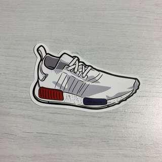 🚚 Adidas NMD Sneakers Waterproof Stickers