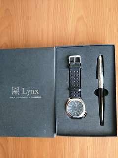Lynx經典時尚錶組(正品)