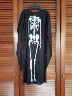 KIDS Skeleton Costume 5-7yrs