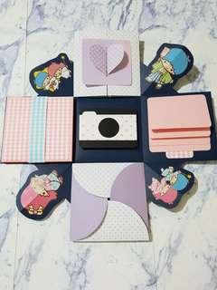 🚚 雙星仙子-爆炸卡片禮物盒