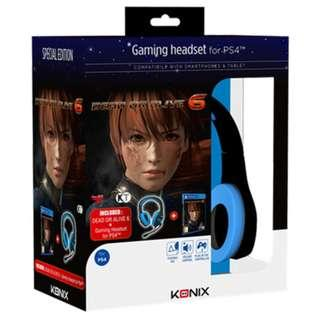 PS4 Dead or Alive 6 + Gaming Headset Special Edition Bundle