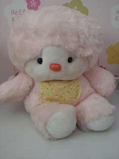 Giant pink plush (abt 60cm H)