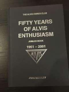 Book on Alvis vintage cars