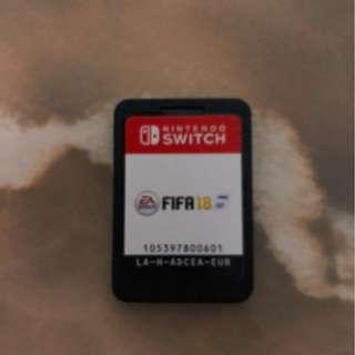 Nintendo Switch Fifa 18 (no casing)