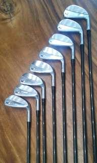 PRGR Golf TR Speed #3-P Irons Stock R-Flex Shafts