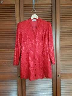 WOMEN Kebaya Lace Top (L/XL)