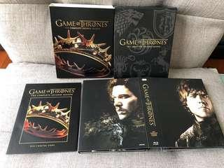 🈹神劇 GAME OF THRONES Blu-ray DVD (Season 1 -3)