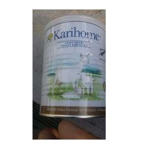 Karihome 1 Karihome 2  Goat Milk 400g. local purchase.  Retail $26.70.Exp:Feb 2021 onwards