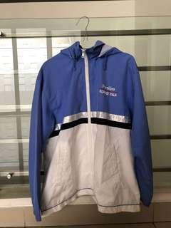 White & Blue Jacket
