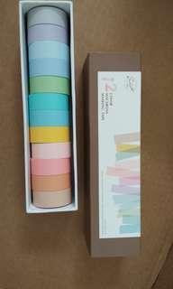 12 Color Macarons Masking Tape