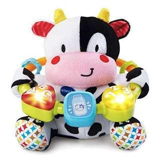 V tech musical cow toy