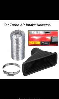 🚚 Universal carbon fiber cold air intake