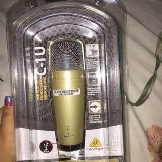 Microphone condenser C-1u